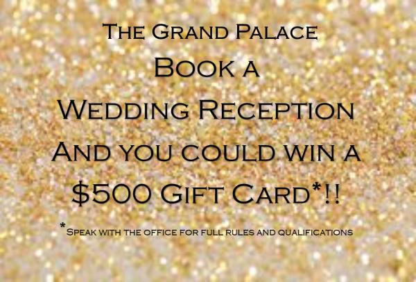 Book A Wedding Reception