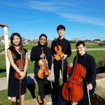 The Cinco Ranch High School (Katy) String Quartet .