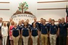 The Woodlands College Park High School's JROTC Marine Corps and Academic Team was recognized by The Woodlands Township Board of Directors, May 24, 2017, as 2017 National Drill and Academics Champions.