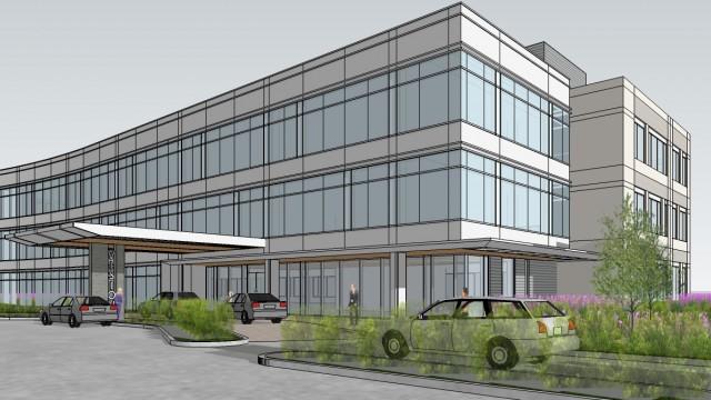 Vision Park Medical Building.