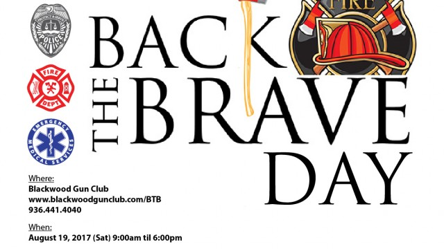 Back the Brave is a non-profit organization that supports first responders and their families during line of duty deaths or a serious line of duty injury.