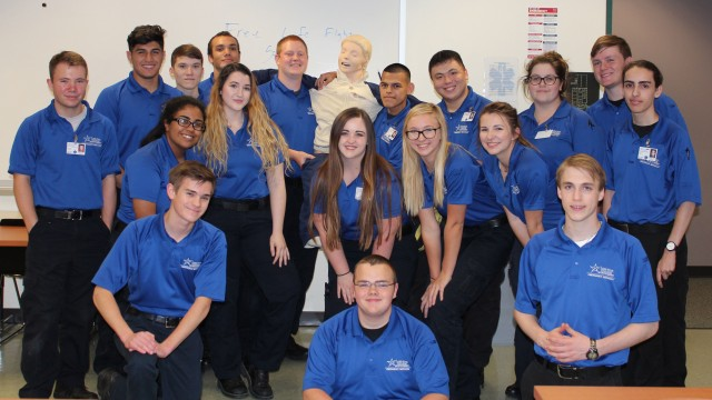 Nineteen high school seniors are on their way to becoming certified Emergency Medical Technicians (EMT) thanks to a new dual credit program at Lone Star College-Montgomery.