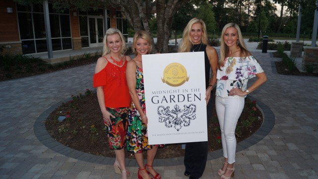 Meagan Jamaluddin, Director of Development, Interfaith of The Woodlands, Co-Chair Jenny Coyle, Missy Herndon, President and CEO of Interfaith of The Woodlands and Co-Chair Jena McCrann