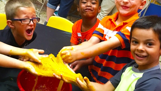 It will be a week of squishing, pouring, mixing and more at The Woodlands Children's Museum during its weeklong Science Palooza.