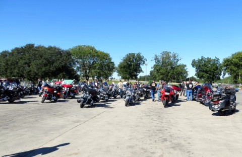 Last year's Ride for Recovery at the Memorial Hermann Prevention and Recovery Center (PaRC) attracted almost 100 motorcycle enthusiasts from throughout Texas.  Photo: PaRC Alumni Association