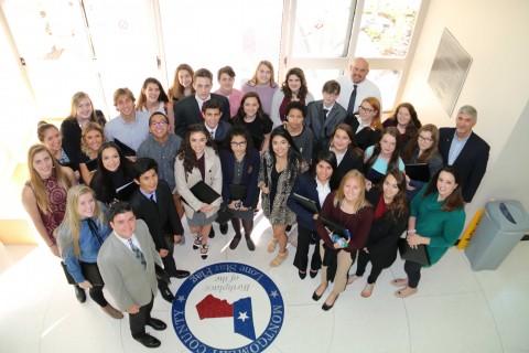 Juniors in Magnolia ISD Student Leadership Cohort.