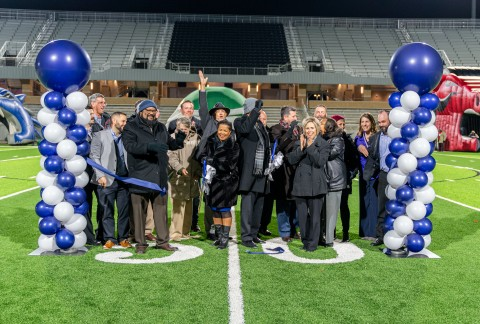 Planet Ford Spring >> Spring Isd Students And Community Members Celebrate Opening
