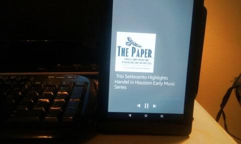 Now you can listen to current articles from The Paper 24/7 as part of your Google Alexa Flash Briefing as we are now one of the first community newspapers in the Houston-area to offer this free option to our readers!