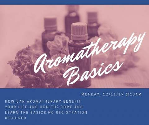 Would you like to learn the basics of aromatherapy just in time for the holidays?