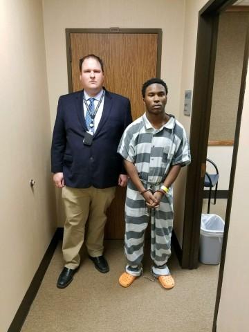 Suspect arrested.
