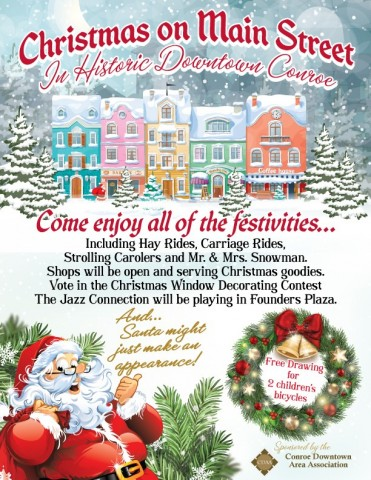 Christmas on Main to debut in Downtown Conroe