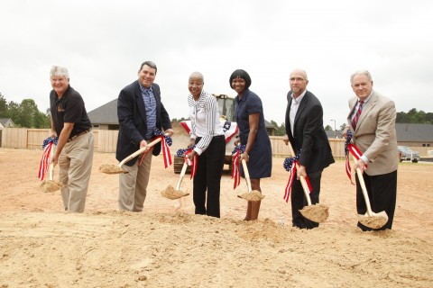 Coventry homes breaks ground on mortgage free home for vet for Operationfinallyhome org