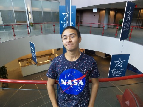 Emil Gillett of Lone Star College (University Park Campus) in Spring has been selected to travel to NASA's Johnson Space Center this fall to participate in the NASA Community College Aerospace Scholars project (NCAS).
