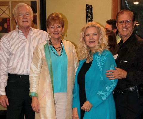 "The co-chairs of this year's Bach, Beethoven & Barbecue gala, from left, are Alan ""Barb"" and Mimi Sadler and Garlaine and Emmett Kelly."