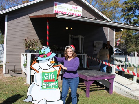 After sustaining severe damage during Hurricane Harvey, The Mercer Society (TMS) relocated their Gift and Plant Shoppe to 400 Main Street in Old Town Spring just in time for the holidays.