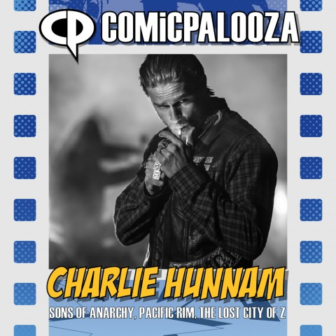 Your favorite outlaw is coming to Comicpalooza. Charlie Hunnam is best known as Jax Teller from Sons of Anarchy.