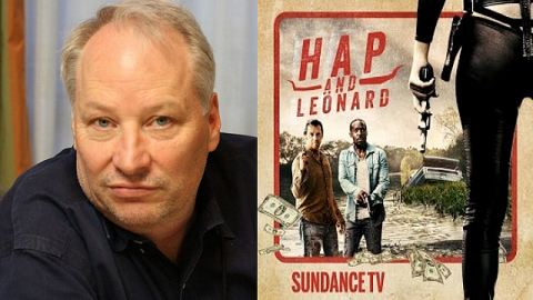 Joe R. Lansdale and his characters Hap & Leonard.