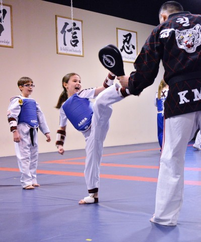 Elite Yong-In just opened their doors in Magnolia the end of August for all ages of family to enjoy the art of Taekwon do.