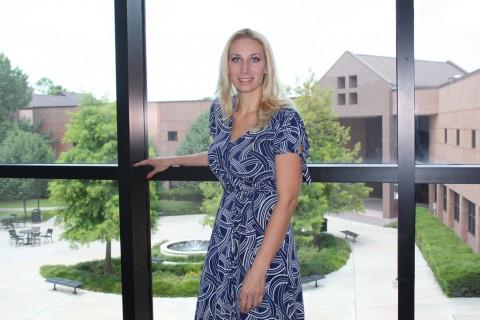 LSC-Tomball English Professor Melissa Studdard.