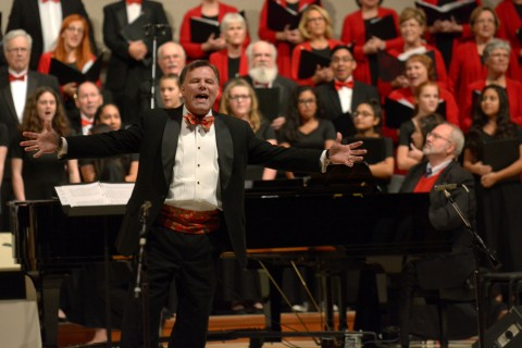 """Craig Stephan, associate conductor and accompanist for the Montgomery County Choral Society, invites all Houston-area families to join the society on Dec. 15 as it celebrates the holidays by presenting """"Your Christmas Favorites."""""""
