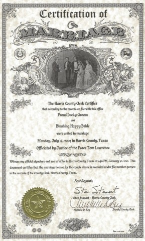 harris county public marriage records
