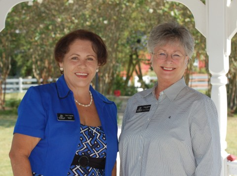 From left: Eva T. Aguirre has been named the new Executive Director of New Danville, following the retirement of Kathy Sanders, founder and former President and CEO of New Danville.