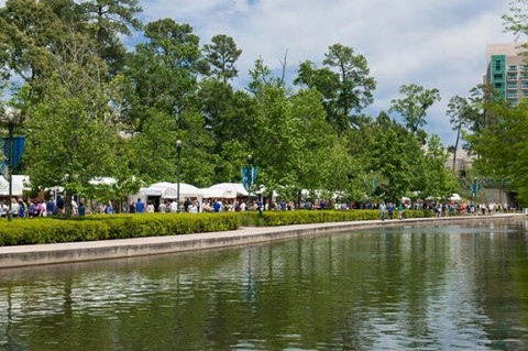 The Woodlands Arts Council presents the 13th annual Woodlands Waterway Arts Festival, set for Saturday, April 7 from 10 am – 6 pm and Sunday, April 8 from 10 am – 5 pm in Town Green Park and along the scenic banks of The Woodlands Waterway.
