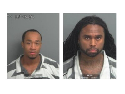 Alleged credit fraud suspects Means and King.