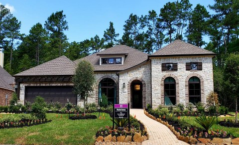 Distinguished One Story Homes Abound At The Woodlands Hills