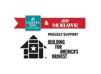 Viking Carpet One Floor & Home and flooring manufacturer partner Mohawk have been spending the past year helping to build smart homes for injured veterans across the United States through the Building for America's Bravest program.