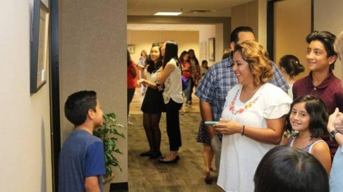 Conroe ISD hosted a District-Wide Art Show at the Dean L. Sadler Administration Building in Conroe on Saturday, September 9, 2017.