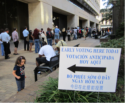 Early Voting Starts Today for Super Bowl of Elections ...