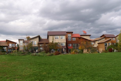 More than 140 different intentional communities based around sustainability are in operation across the U.S., including Ecovillage at Ithaca (pictured here) which started in the early 1990s.