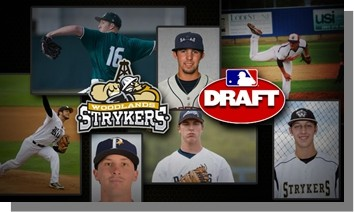 The Woodlands Strykers are proud to recognize nine current and former players who have been drafted into the MLB in both 2014 & 2015.