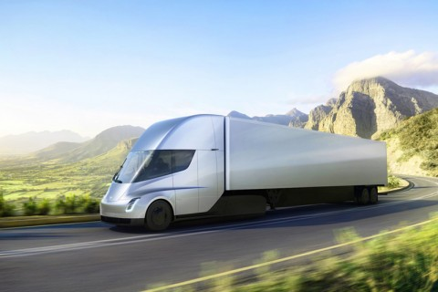 Tesla's forthcoming all-electric Semi tractor-trailer can go upwards of 300 miles between charges and is expected to offer the lowest energy cost per mile of any big rig on the road.