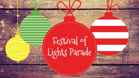 Join Woodforest residents as they ring in the holidays with a festive Parade of Lights on Saturday, Dec. 9 from 6-7 p.m.