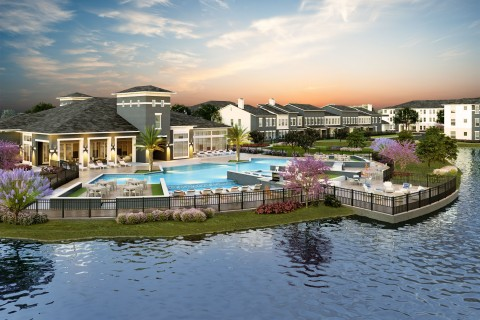 The Canopy at Springwoods Village, a Luxury Multifamily Community in Springwoods Village, Officially Opens